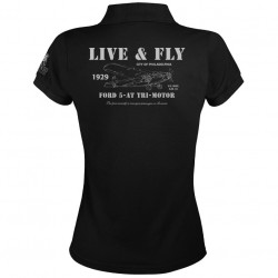 Women Polo Shirt Ford 5-AT