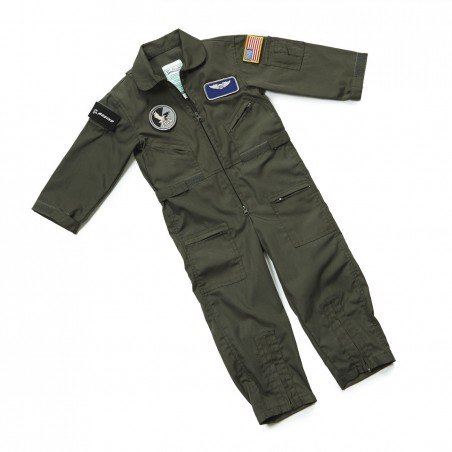 Youth Flight Suit With Patches