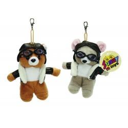 Pilot Bear/Mouse Keyring -...
