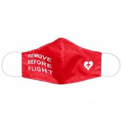 Remove Before Flight Mask