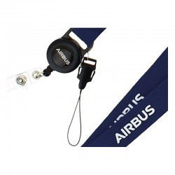 Airbus badge holder with...