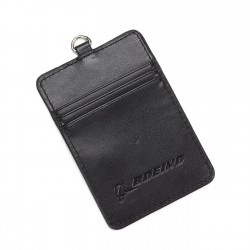 Boeing PU Leather Card Holder