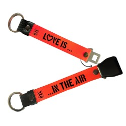Love is... in the Air Keyring
