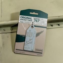 Aviationtag Boeing B747 -...
