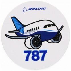 Boeing 787 Pudgy Sticker
