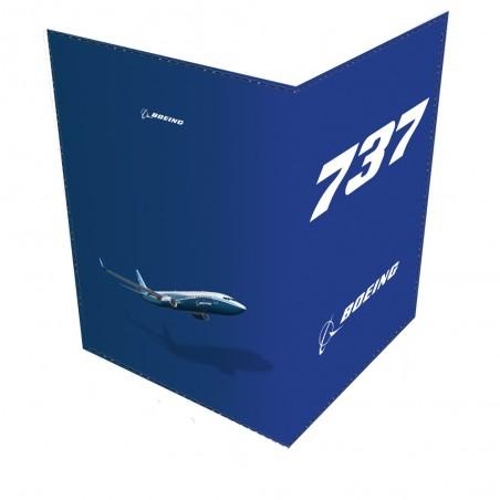 Boeing 737 Passport Cover