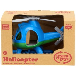 Green Toys Helicopter Blue Top