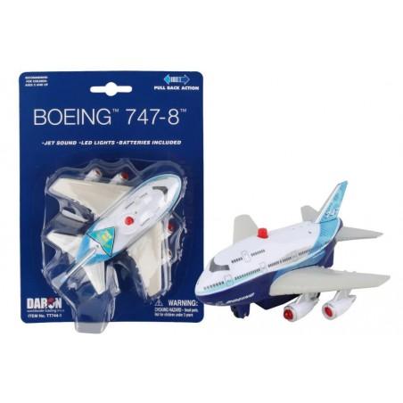 Boeing 747 Pullback Jet