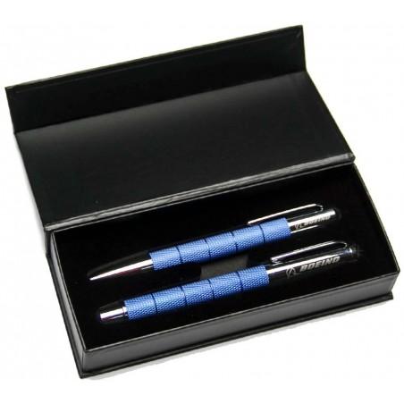 Boeing Diamond Grip Pen Set