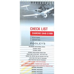 Diamond DA40 G1000 Checklist
