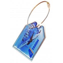 Eticheta bagaj Tarom B737...