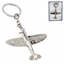RAF Spitfire Silver Plated...