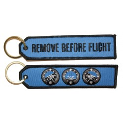 Altimeter RBF Keyring