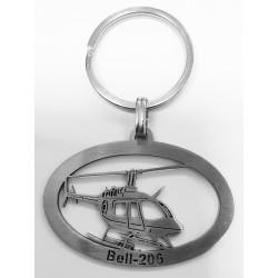 Keyring Bell-206 - ellipse