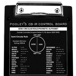 Pooleys CB-1R Rigid Kneeboard