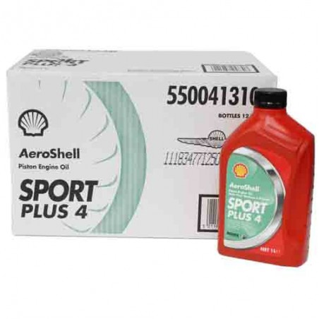 AeroShell Oil Sport PLUS 4
