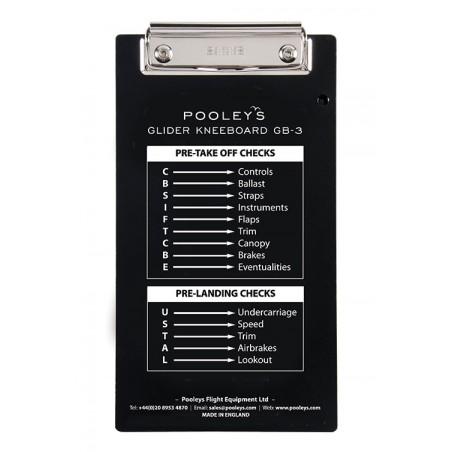Pooleys GB-3 Glider Kneeboard