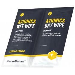 Aero-Sense Avionics Wipes
