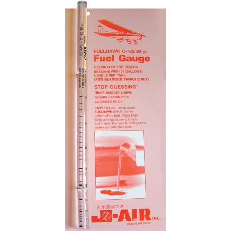 Fuelhawk Fuel Gauge C182/39gal