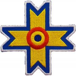 Emblema brodata Crucea...