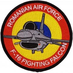 Emblema brodata F-16...
