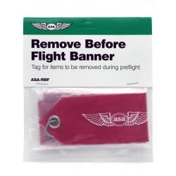 Remove Before Flight Banner