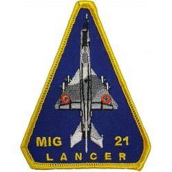 Emblema brodata MiG 21 Lancer