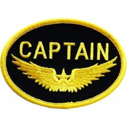 Emblema brodata CAPTAIN