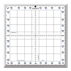 Pooleys PP-1 Square Protractor