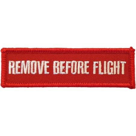 Remove Before Flight Applique
