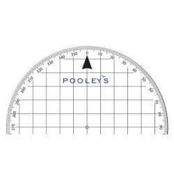 Pooleys PP-3 Round Protractor