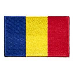 Romanian Flag Applique