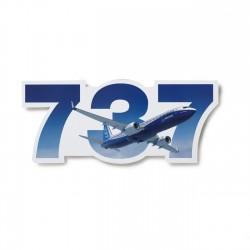 Boeing 737 Die-Cut Sticker