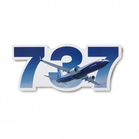 Sticker Boeing 737 Die-Cut