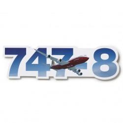 Sticker Boeing 747-8