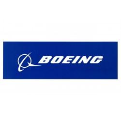 Boeing Blue Signature Sticker