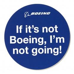 Sticker If It's Not Boeing,...