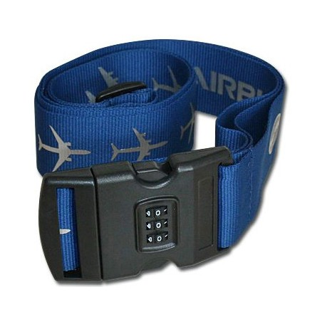 Airbus Lockable Luggage Strap