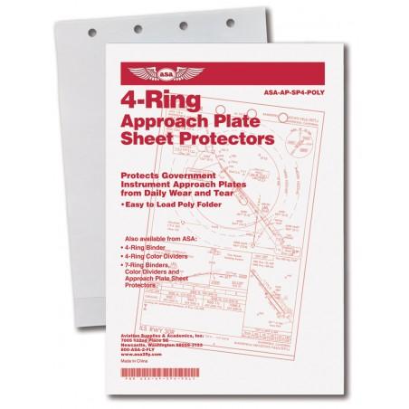 ASA 4-Ring Poly Sheet...