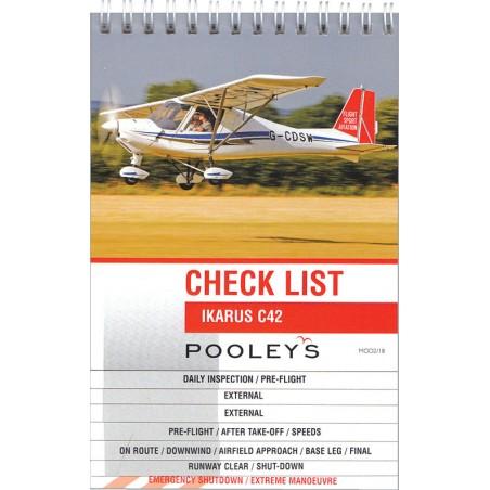 Ikarus C42 Checklist