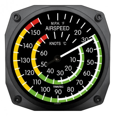 Wall Thermometer - Airspeed...