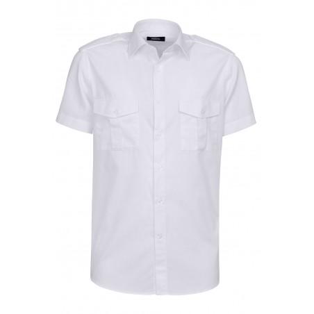 Bigotti Pilot Shirt - Slim Fit