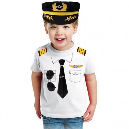 Tricou pilot copii